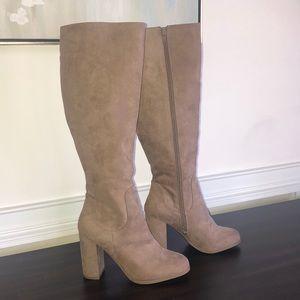 Madden Girl Boots Size 7